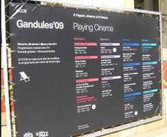 Cine y música en Gandules 2009