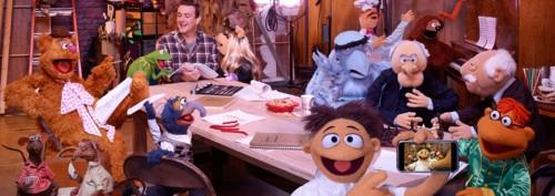 Jason Segel y las marionetas