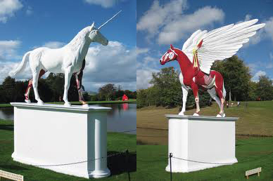 Damien Hirst-caballos.5