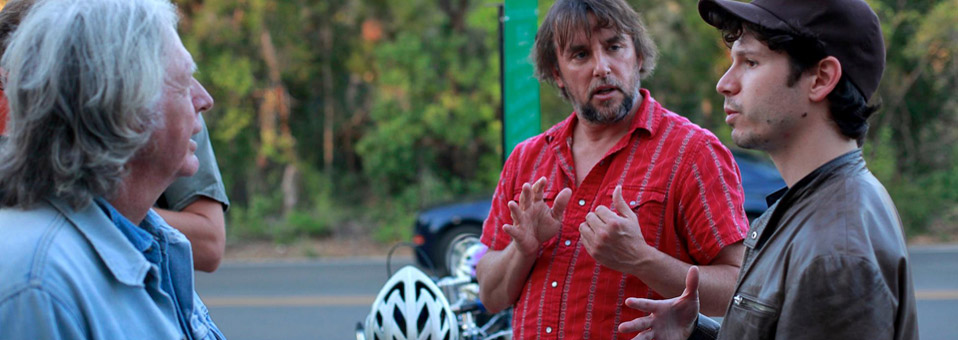 El rodaje de 'Double Play: James Benning And Richard Linklater'