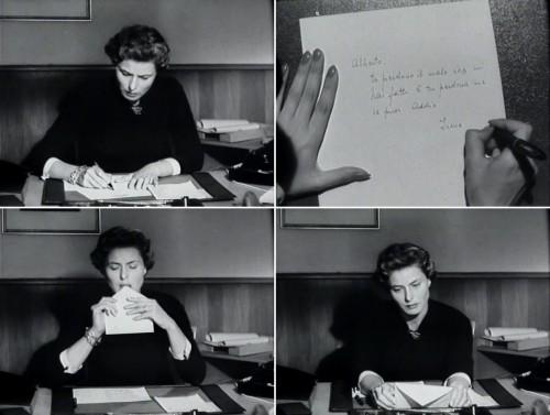 Bergman carta la paura