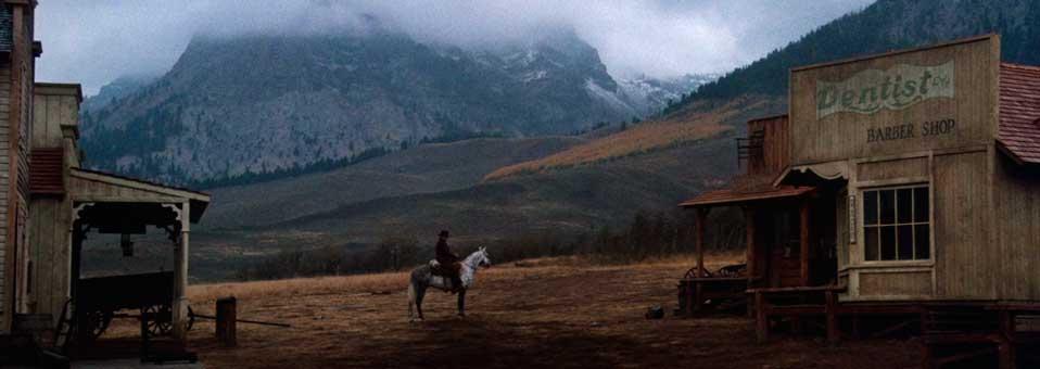 Clint Eastwood y el western