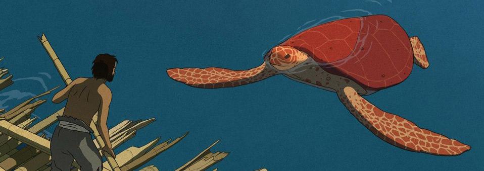 La tortue rouge